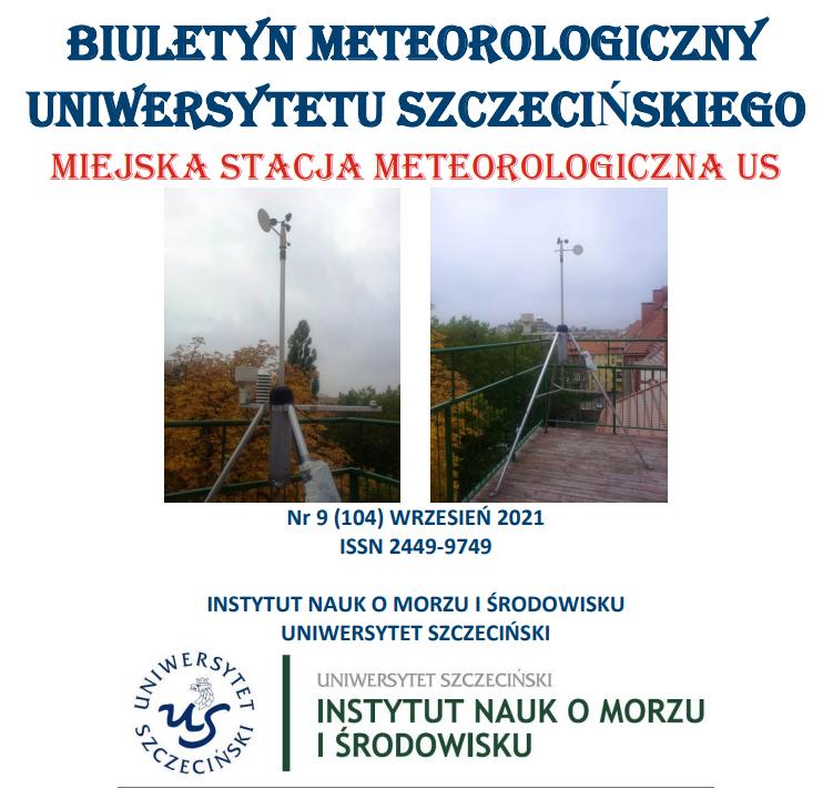Nowe numeru Biuletynu Meteorologicznego US